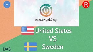 Osu Taiko World Cup 2017 Group Stage Group E United States Vs Sweden