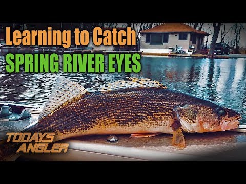 Learning To Catch Spring River Walleyes - 2018 - Todays Angler