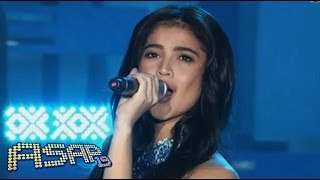 Anne Curtis sings