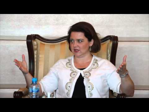 bizbahrain interview at the Capital Club - SOLVEIG NICKLOS, DIRECTOR, BIBF