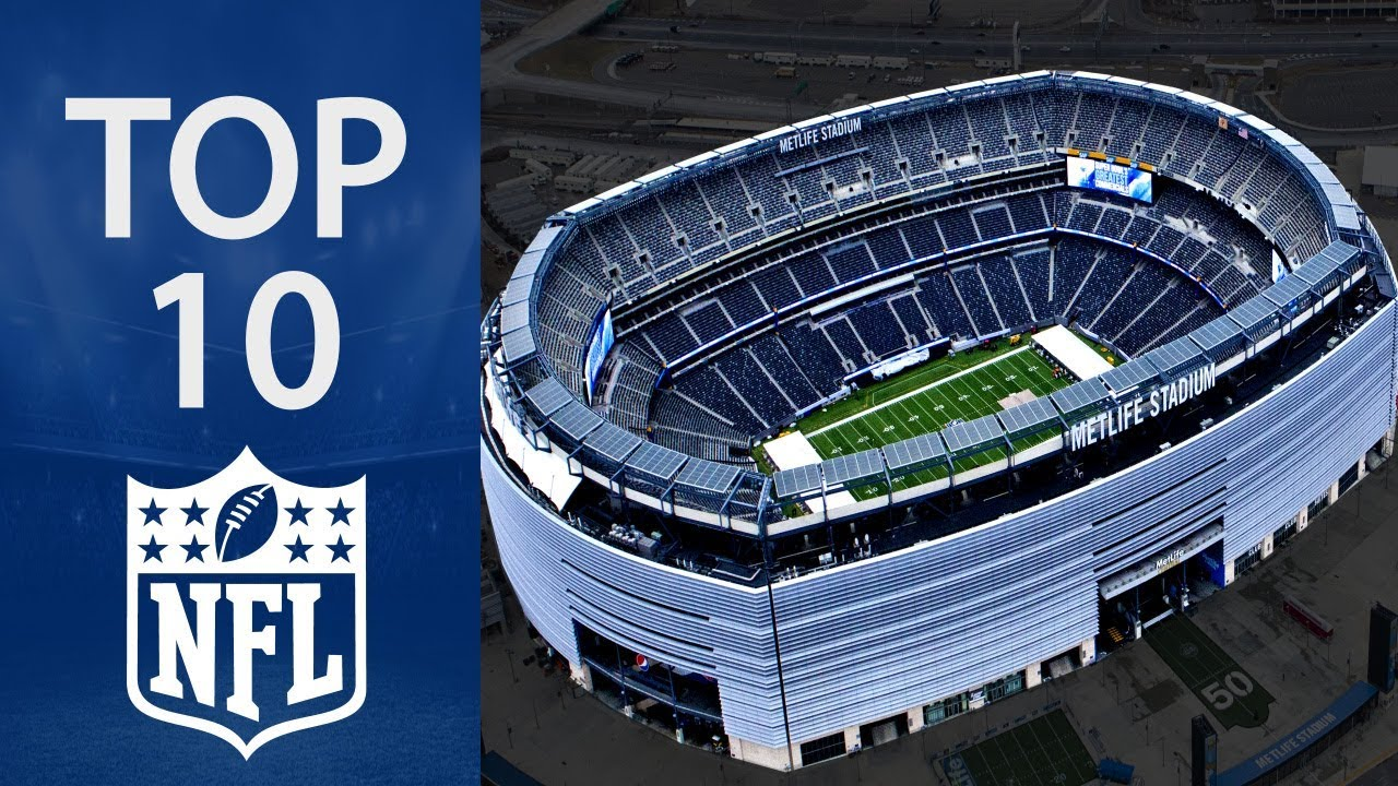 Top 10 Biggest NFL Stadiums YouTube