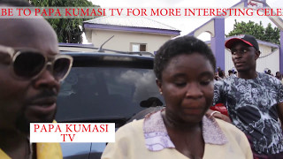 Official video Maame Serwaa completes SHS see how Yaw Dabo, Papa Kumasi, Rasta Nene, surprised her