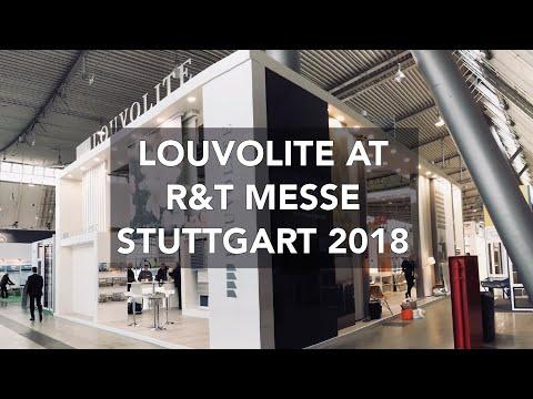 Louvolite at R+T Messe Stuttgart 2018