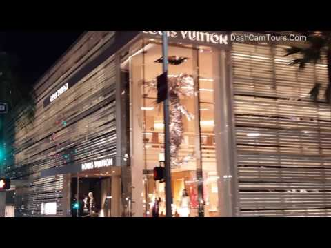 Beverly Hills Driving Tour: Chinese Mannequins in The Sacks Fifth Avenue, Broken Ferrari, McLaren