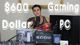 $600 GAMING PC BUILD | Tech a Seat (2016)