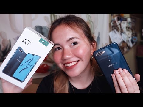 OPPO A7 UNBOXING AND QUICK REVIEW