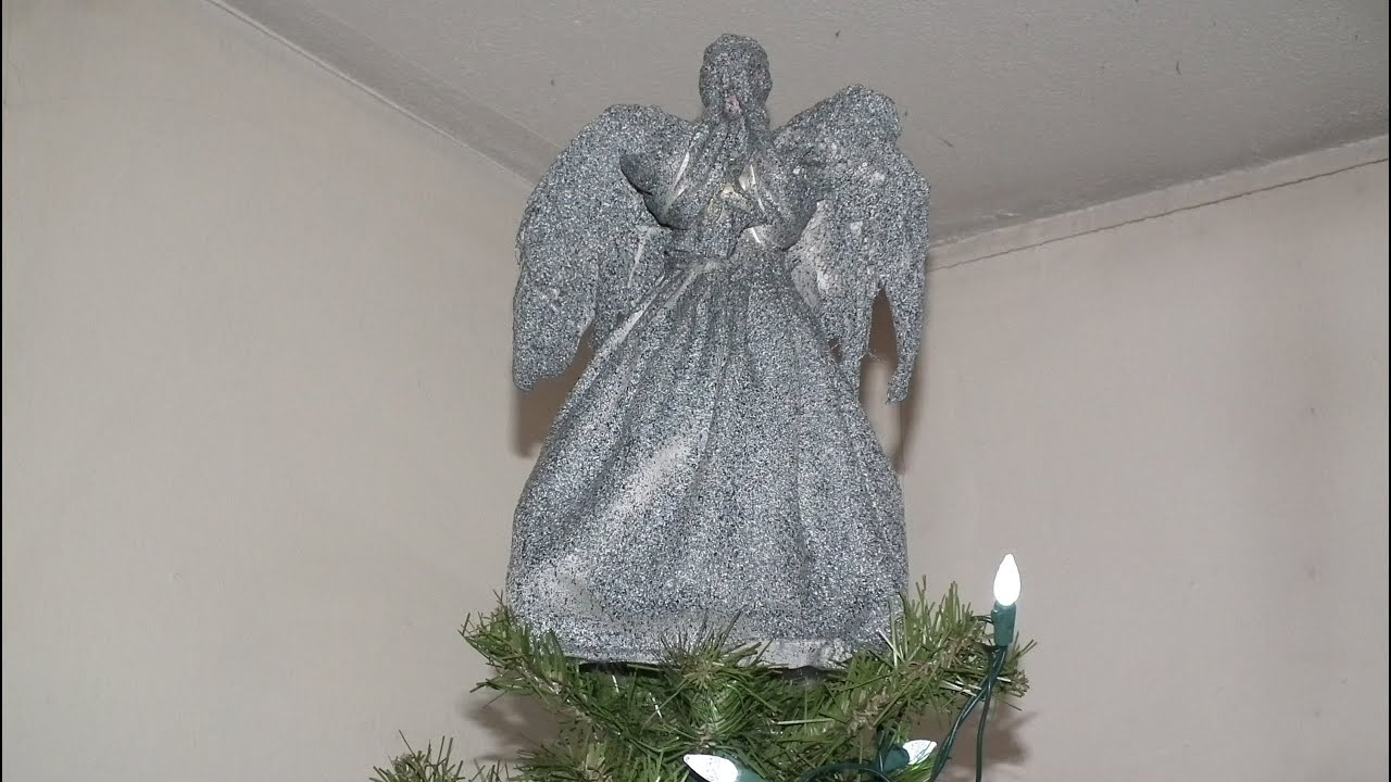 Weeping Angel Christmas tree topper Project - YouTube