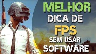 Melhor Dica de FPS DO PUBG Battleground| SEM PROGRAMAS | Otimizar o jogo PUBG | melhorar o fps