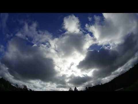 Nibiru / Planet x watch. Weather time lapse, Latvia 29.09.2016