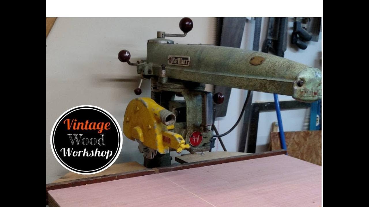Dewalt radial arm saws