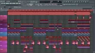 David Guetta - play hard feat ne-yo akon - instrumental - FL Studio -FLP Download mp3