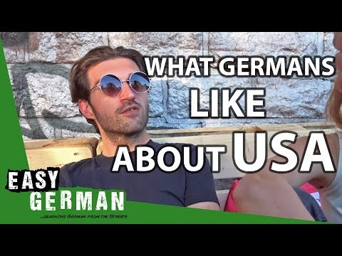What do Germans think about the USA? | Easy German 104
