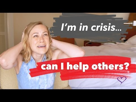 I'm In A Crisis! Can I Help Others? | Mental Health Support With Therapist Kati Morton | Kati Morton