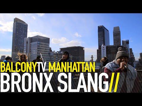 BRONX SLANG - POKER STAR (BalconyTV)