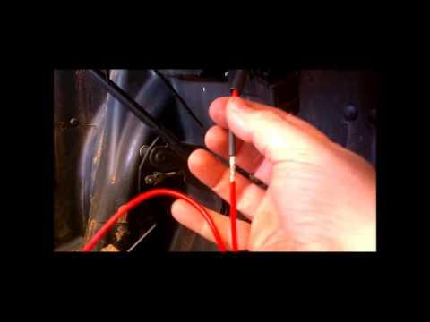 Polaris RZR Fuse panel and Totron LED light bar install