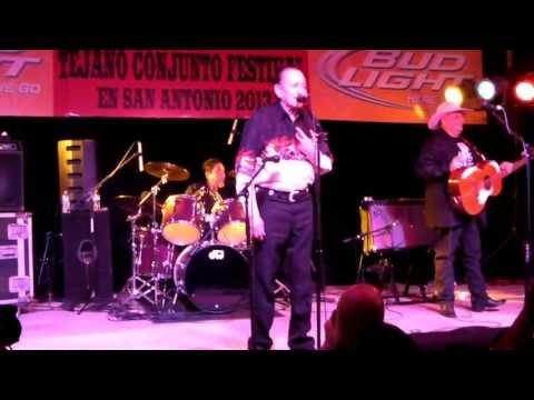 Flaco Jimenez introduces Dwayne Verheyden Tejano Conjunto Festival 2013 may .