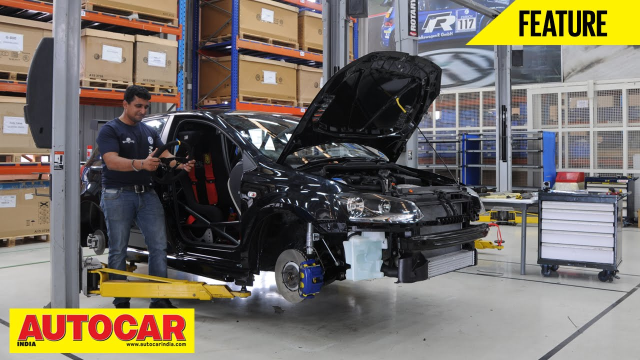 Building A Volkswagen Polo R Cup Car Feature Autocar India Youtube