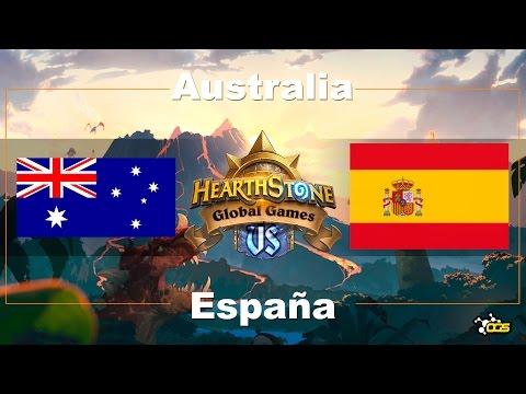 HGG - Semana 6, Día 1 - España VS Australia