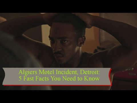Algiers Motel Incident, Detroit: 5 Fast Facts You Need to Know || TENTEN TV