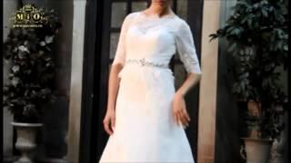 Свадебное платье Ивона рукав, шлейф, производство