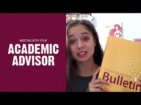 Meeting With Your Academic Advisor - Jordan