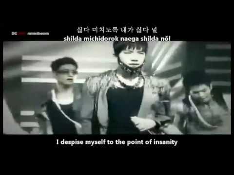 2PM - I hate you [english subs+romanization+hangul lyrics]
