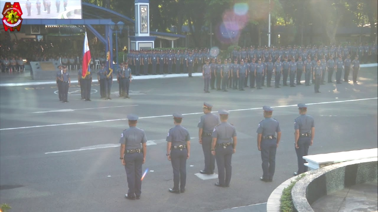 PNP FLAG RAISING (Mar. 9, 2020)