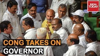 Congress Takes On Karnataka Governor, Claiming Guv Can't Intervene In Assembly Proceedings