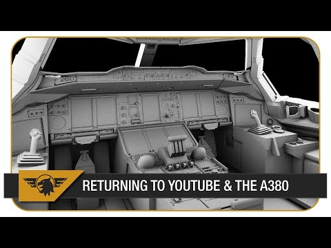 [Update] Coming back to YouTube, A380 in development, Flight Sim Show 2017.