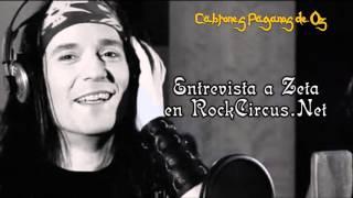 Mägo de Oz - Entrevista a Zeta en RockCircus.Net sobre