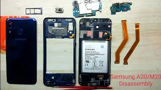 Samsung A20 Disassembly / Samsung A20s Teardown || How to Open Samsung A20s