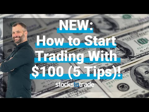 NEW: How to Start Trading Stocks With $100 (5 Tips)!