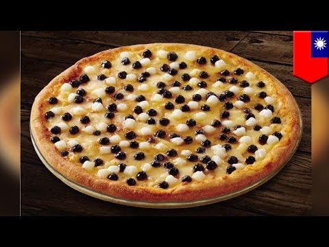 Dominos Taiwan Now Has Pearl Milk Tea Pizza Newsradio Wfla