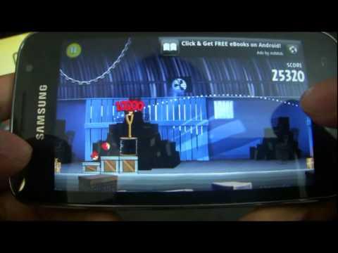 Angry Birds Rio on Samsung Galaxy SL I9003
