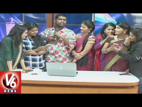 Thanks For 1 Million Likes || V6 Team Celebrations || V6 News