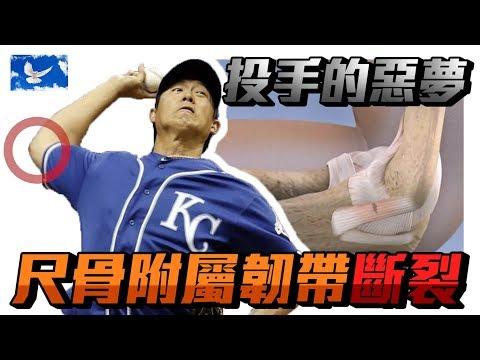 恐怖! 投球時手肘韌帶斷裂! Tommy John韌帶重建手術 | 蒼藍鴿聊醫學EP82
