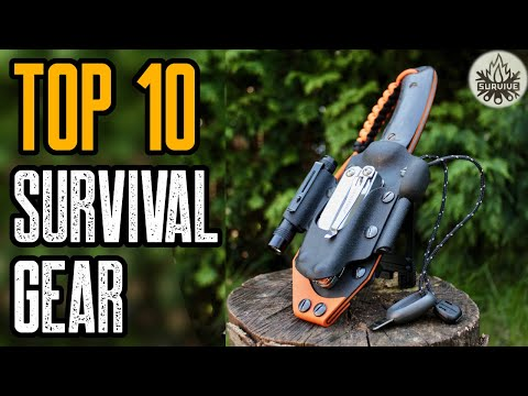 TOP 10 BEST SURVIVAL GEAR & GADGETS 2021