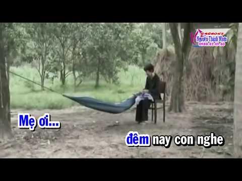 Karaoke vọng cổ GIỌT LỆ NHỚ THƯƠNG - DÂY KÉP [T/g Hoàng Giang]