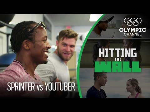Fitness YouTuber vs Olympic Sprinter - Brandon White Faces Chris Brown | Hitting the Wall