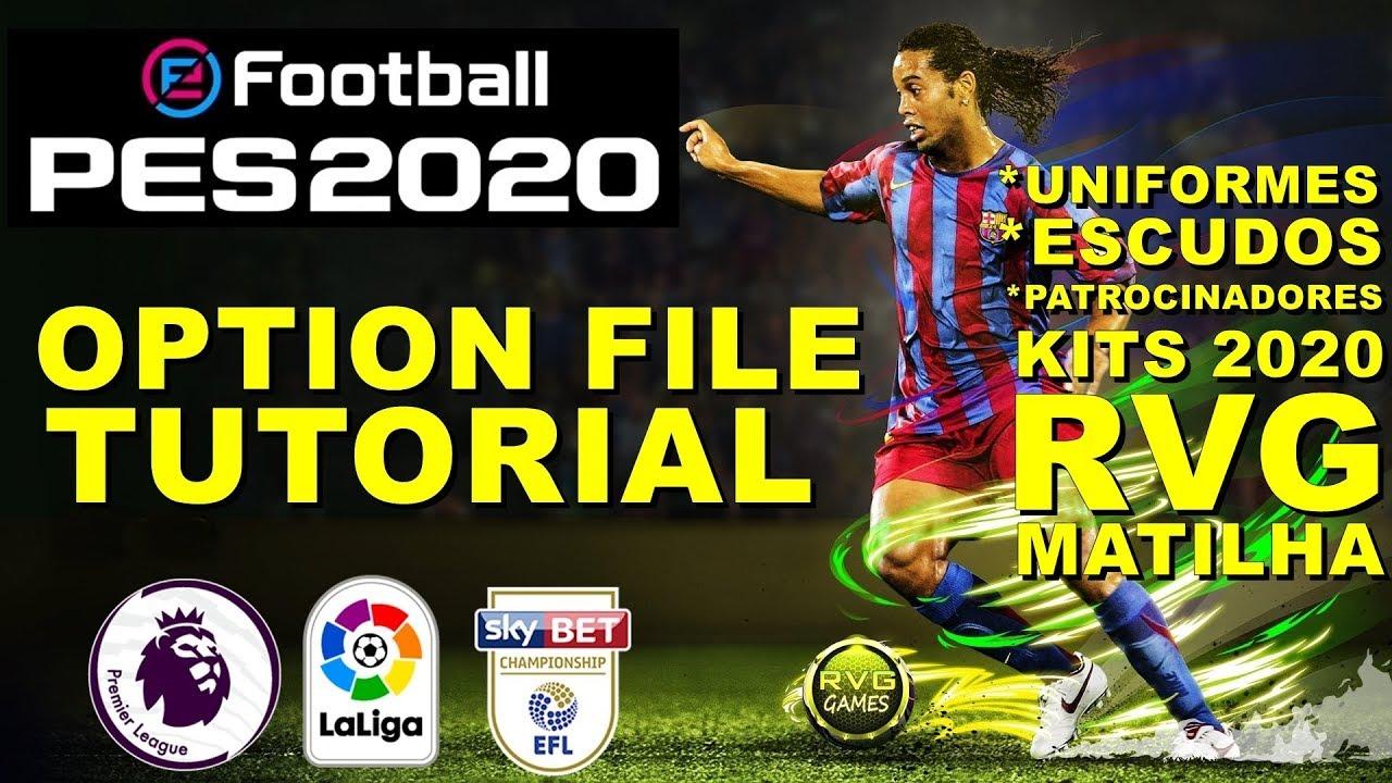 eFootBall PES 2020 OPTION FILE / PES 2020 OPTION FILE