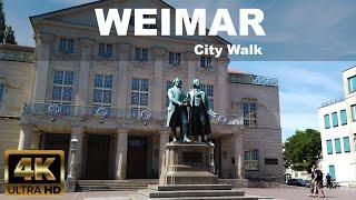 Weimar City Walk|  4K UHD | ⛅ …
