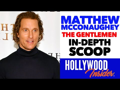 'the-gentlemen'---'in-depth-conversation'-with-matthew-mcconaughey-on-guy-ritchie-film