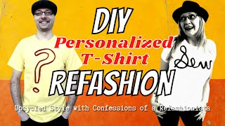 The Texturized Tee a DIY T-shirt embellishment tutorial