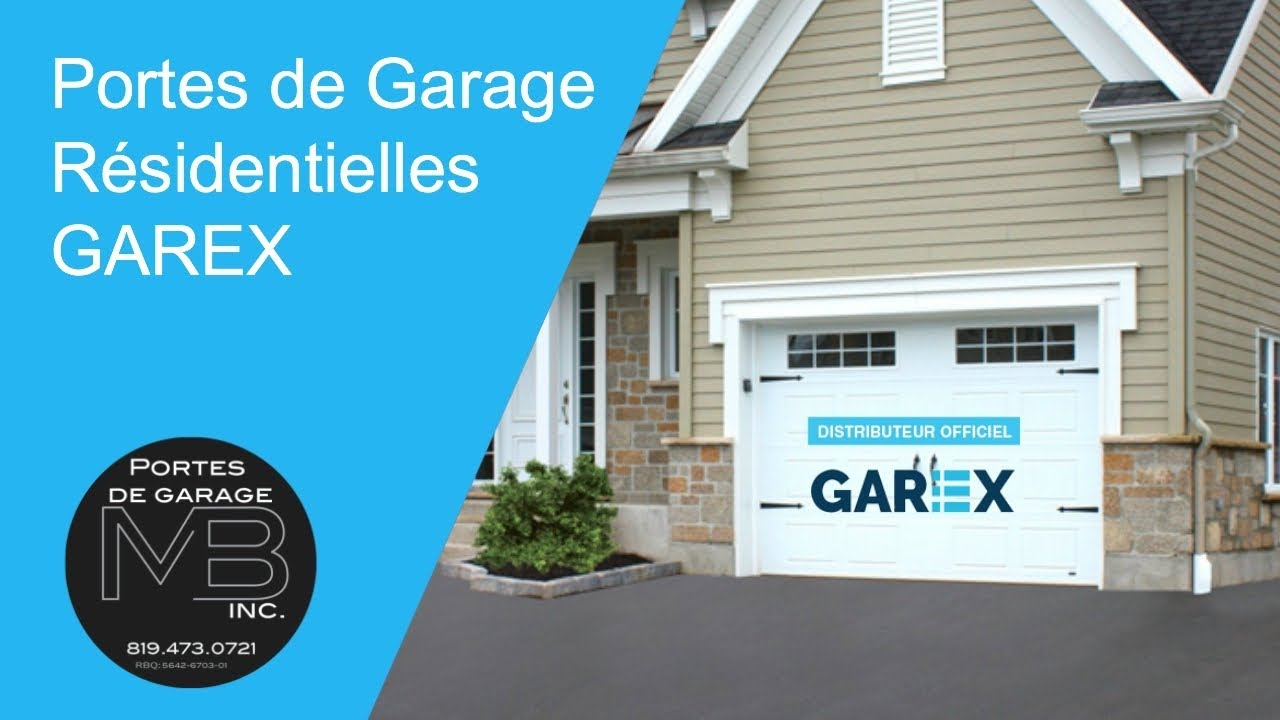 Portes de garage r sidentielles garex 844 473 0721 youtube for Porte de garage mulhouse