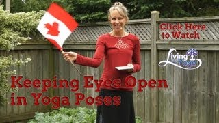 Keeping Eyes Open in Yoga Poses