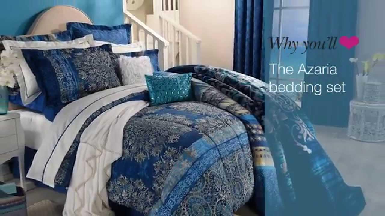 Azaria bedding set