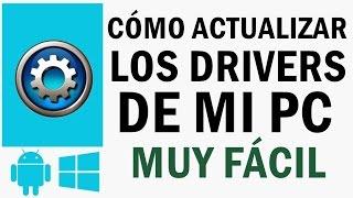 Cómo Actualizar y Reparar Todos Los Drivers De Mi PC   Windows XP, 7, 8, 8.1, 10   2015 - 2016  