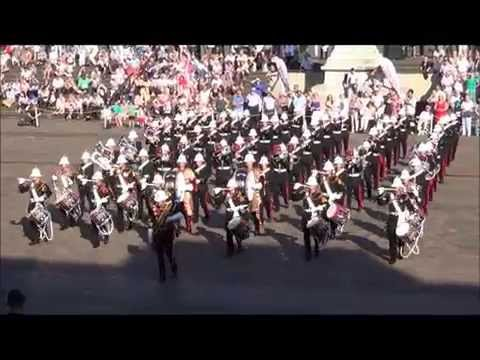Royal Marines School of Music - Beating Retreat 08-08-15