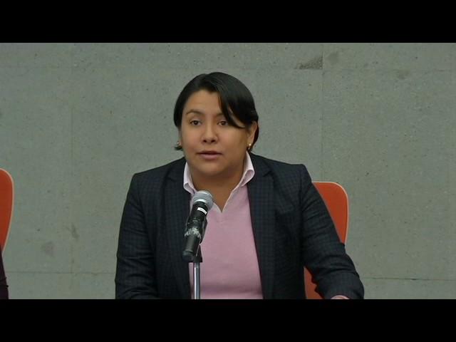Discurso de la Dra. Perla Gómez Gallardo en la presentación de la Recomendación 17/2016
