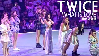 EXCLUSIVE: TWICE - What Is Love Performance at KCON LA 2018